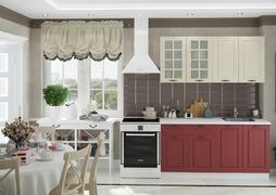 Модульная кухня серии Мария МДФ крем