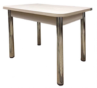 Стол обеденный Ломберный бежевый глянец