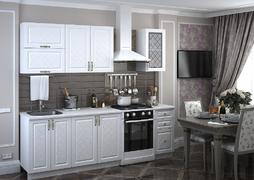 Модульная кухня серии Модена дуб белый