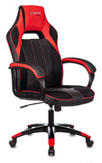 Кресло игровое Бюрократ VIKING-2 AERO черный/красный