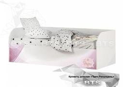Кровать детская с подъёмным механизмом Трио КРП-01 рапунцель