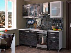 Кухонный гарнитур 1,6м фотопечать - лондон