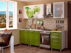 Кухня 1,8м фотопечать - яблоко