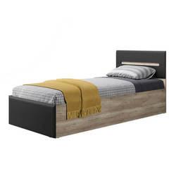 Кровать Наоми КР-12 дуб каньон - графит нубук