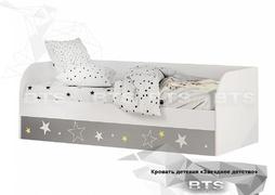 Кровать детская с подъёмным механизмом Трио КРП-01 звёздное детство