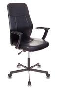 Кресло компьютерное СН-605 черный кожзам