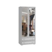 Шкаф 2-ств с зеркалом ЛШ-23 Ливорно ясень анкор светлый