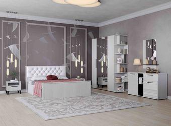 Спальный гарнитур Модена анкор светлый композиция-1