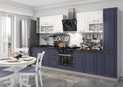 Модульная кухня Гарда 3,4м белый - джинс