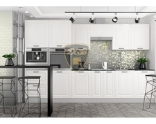 Модульная кухня серии Капри липа белый