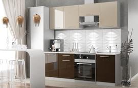 Модульная кухня серии Олива шоколад
