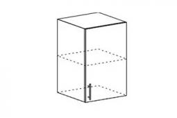 Шкаф верхний высокий Орио ВП 500 МДФ Ваниль