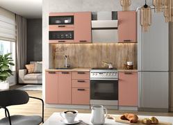 Модульная кухня Ройс 1,4м персик софт