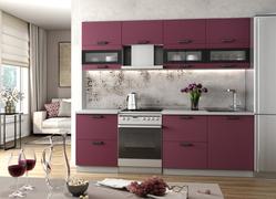 Модульная кухня Ройс виноград софт