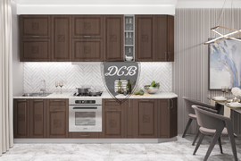 Модульная кухня Тито 3,0м бронза