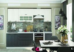 Модульная кухня серии Мария МДФ графит