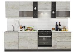 Модульная кухня Бруклин 2,8 м клен скандинавский - венге