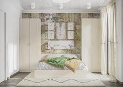 Спальный гарнитур Ронда сосна карелия комплект-1