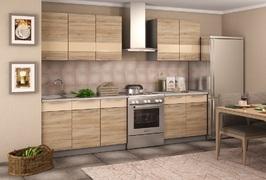 Кухня Олеся 2,0м дуб сонома - ваниль шагрень