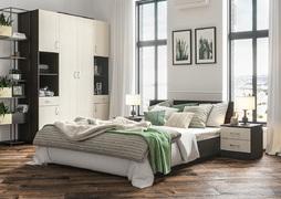Спальный гарнитур Ронда венге - дуб беленый комплект-3