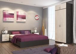 Спальный гарнитур Ронда венге - дуб беленый комплект-5