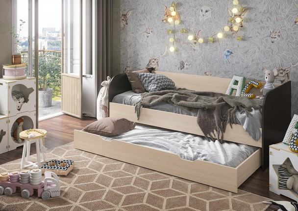 Детская кровать Балли венге - белфорт