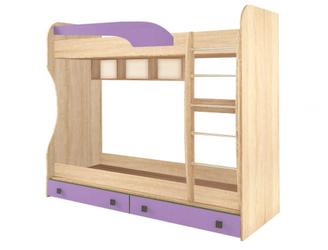 Кровать двухъярусная Колибри виола