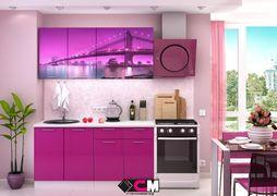 Кухня с фотопечатью Город 2,0м