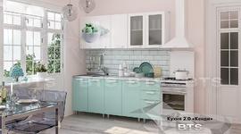 Кухня Кенди МДФ 2,0м кенди - белый глянец