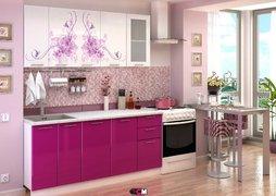 Кухня с фотопечатью Нежность 1,8 м