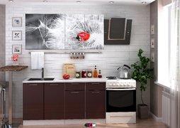 Кухня с фотопечатью Одуванчик 1,8м