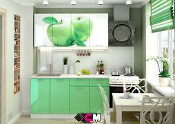 Кухня с фотопечатью Яблоко 1,6м