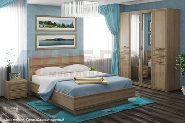 Спальный гарнитур Карина композиция-6