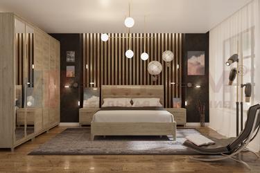 Спальный гарнитур Мелисса композиция-2