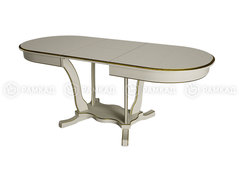Стол обеденный Лотос-2 белый