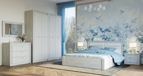 Спальный гарнитур Монако комплект-2