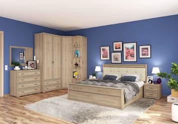Спальный гарнитур Ливорно дуб сонома комплект-2