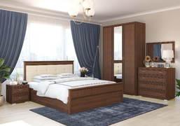 Спальный гарнитур Ливорно орех донской комплект-1