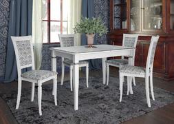 Стол обеденный Неаполь белый