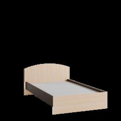 Кровать 1200 Ненси-1 венге - дуб молочный
