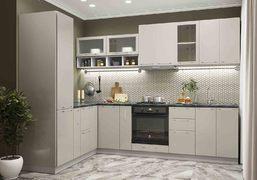Модульная кухня серии Олива жемчуг глянец