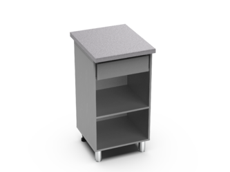 Шкаф нижний с 1 ящиком Контемп ШН1Я 500