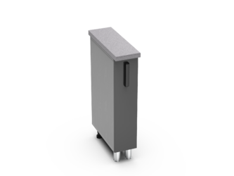 Шкаф нижний бутылочница Контемп ШНБ 200