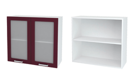 Шкаф верхний со стеклом Мария ШВС 800
