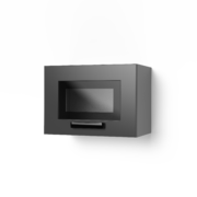 Шкаф верхний со стеклом Контемп ШВС 500Х