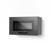 Шкаф верхний со стеклом Контемп ШВС 600Х