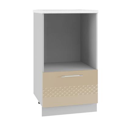 Шкаф с нишей под микроволновку Капля СН 600М кофе с молоком