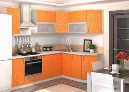 Модульная кухня серии Дина ЛДСП принт манго