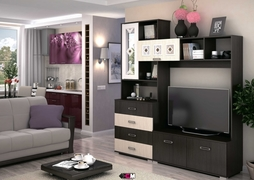 Центральная секция Яна ТВ-751 венге - белфорт