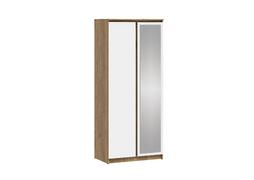 Шкаф 2-ств с зеркалом Ламия ШК-062